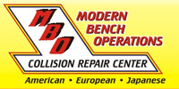 Website for Modern Bench Operations - Collision Repair Center