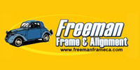 Website for Freeman Frame & Alignment