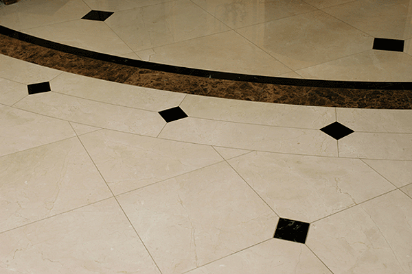 Floors santarossa mosaic and tile for Floor tiles border design