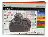 Nikon D5200 inBrief Laminated Card