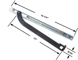 Commercial Overhead Concealed Closer Arm