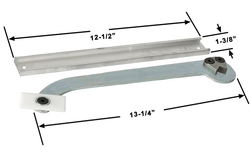 Commercial Overhead Concealed Door Closer Check Arm