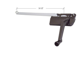 """Truth Hardware Surface Mount Casement Window Operator With 9-1/2"""" Single Arm"""
