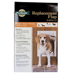 Replacement Flaps for Deluxe Series Pet Door For Dogs Up To 100 lbs.