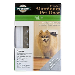 Deluxe Series Pet Door For Cats Up To 15 lb.s and Small Dogs Up To 7 lbs.
