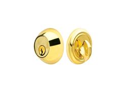 Emtek Regular Style Solid Brass Single Cylinder Deadbolt