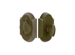 Emtek Sandcast Bronze #1 Style Single Cylinder Deadbolt