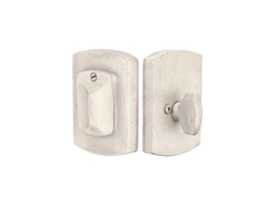 Emtek Sandcast Bronze #4 Style Single Cylinder Deadbolt