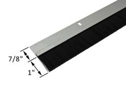 Commercial Door Sweep With Plastic Bristles