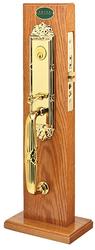 Emtek Regency Brass Mortise Entrance Handleset