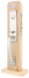 Emtek Artemis Brass Mortise Entrance Handleset
