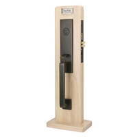 Emtek Mormont Brass Mortise Entrance Handleset