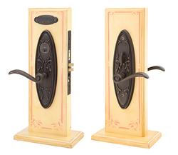 Emtek Da Vinci Lost Wax Cast Bronze Mortise Sideplate Locks