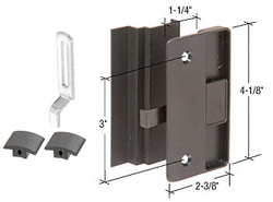"""Sliding Screen Door Latch and Pull with 3"""" Screw Holes for Columbia Supreme Series Doors"""