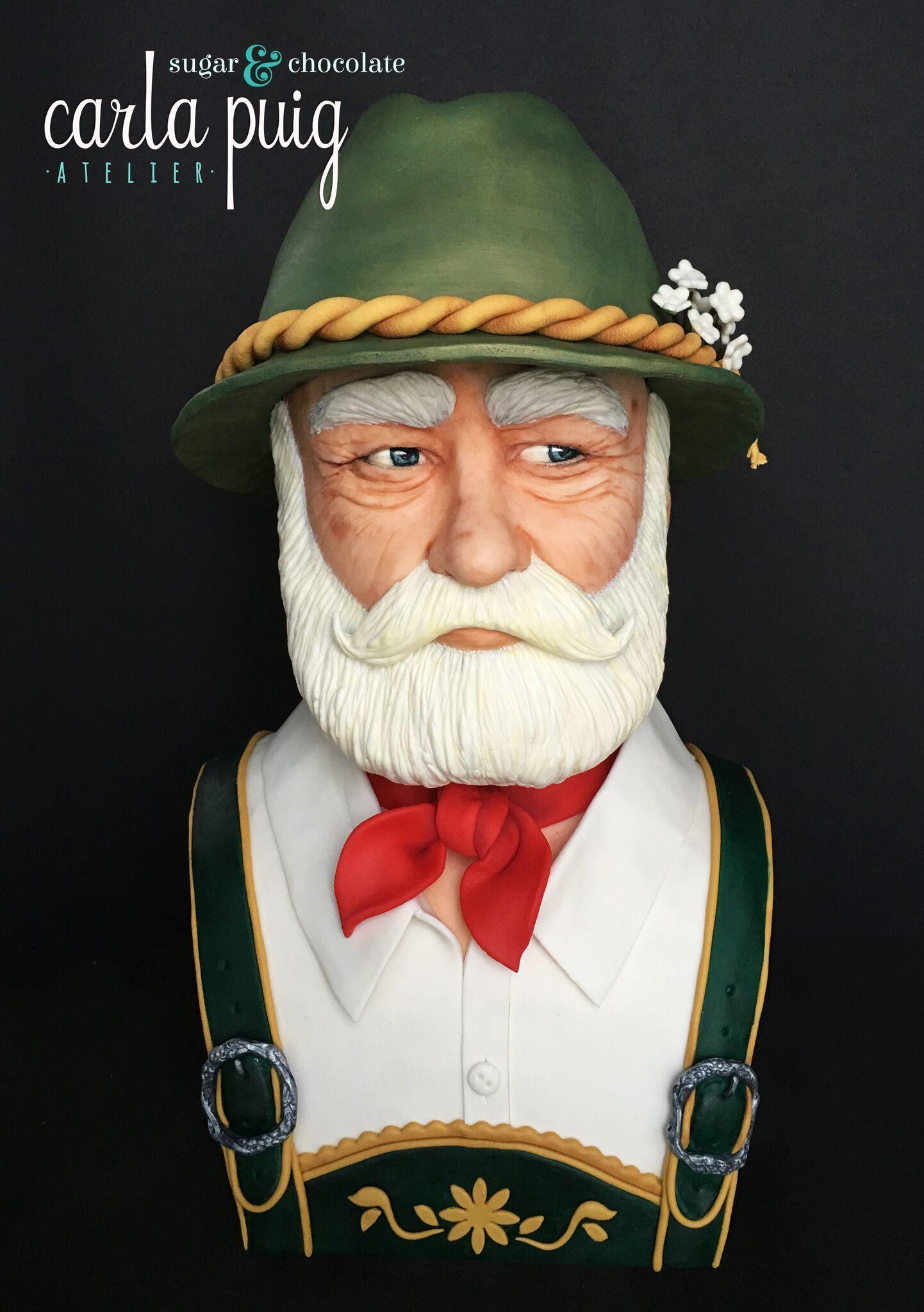 Sculpted German Man