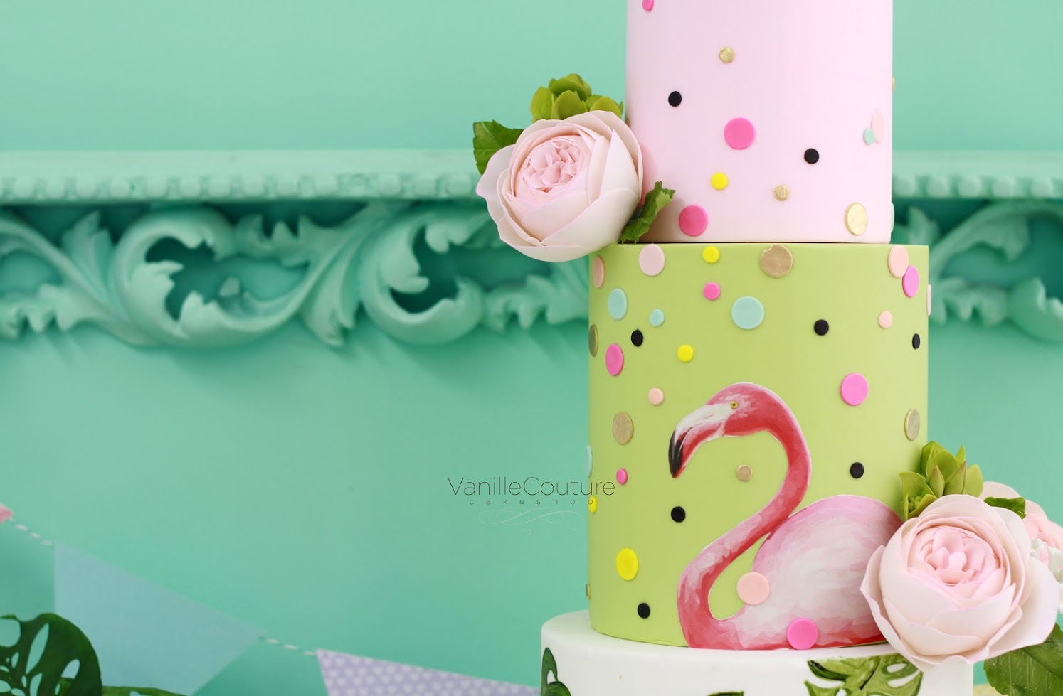 Willie Soto Lili Cuellar Vanille Couture Cakeshop Flamingo 13