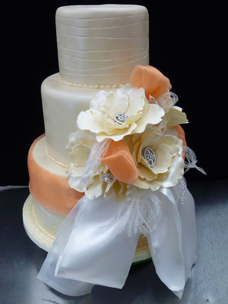 Floral Bow Cake
