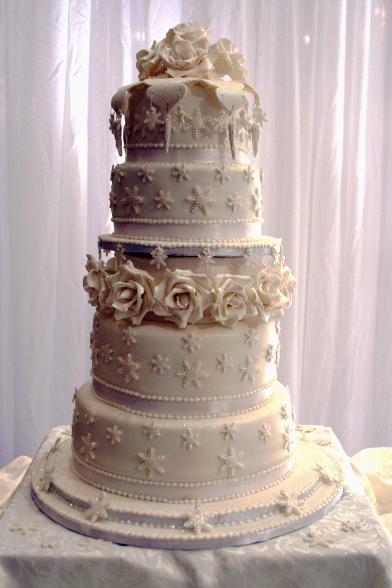 Elegant Tiered Floral Wedding