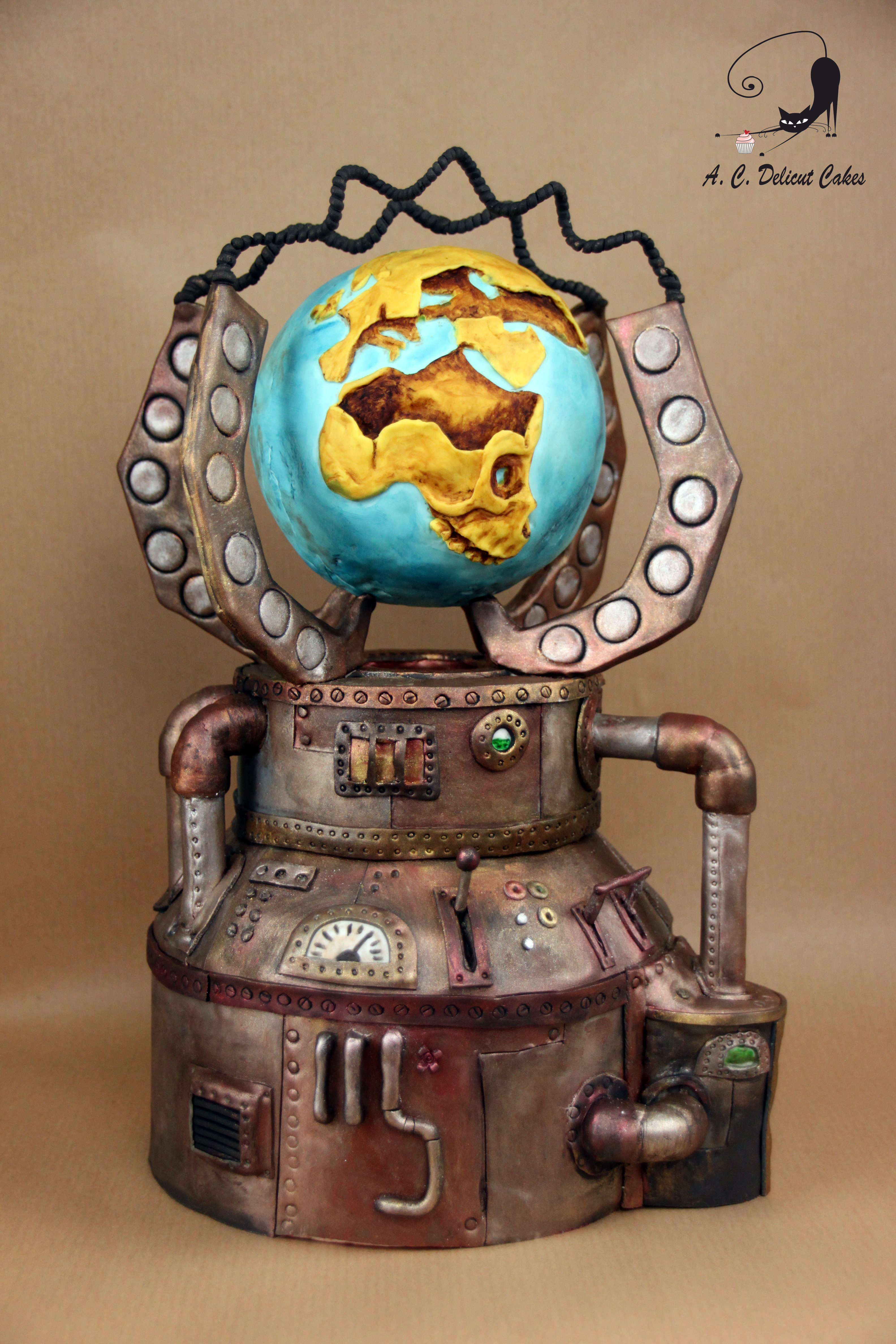 Steampunk novelty cake