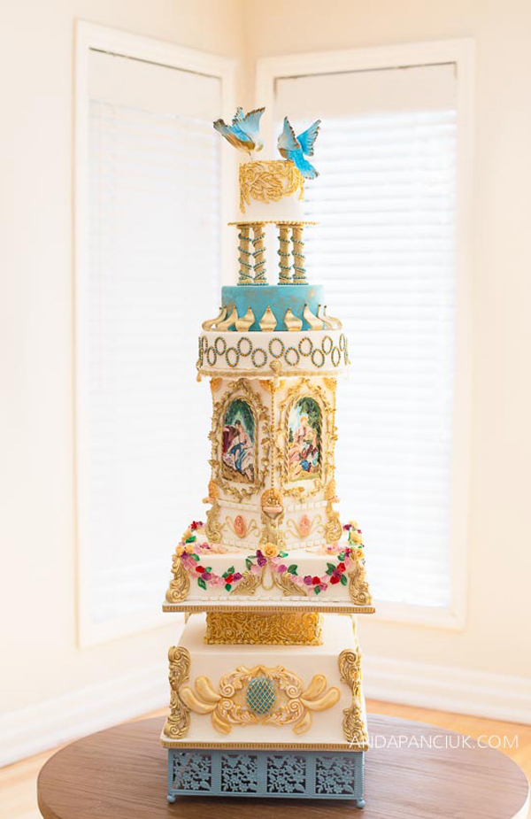 Tower Bird Cake