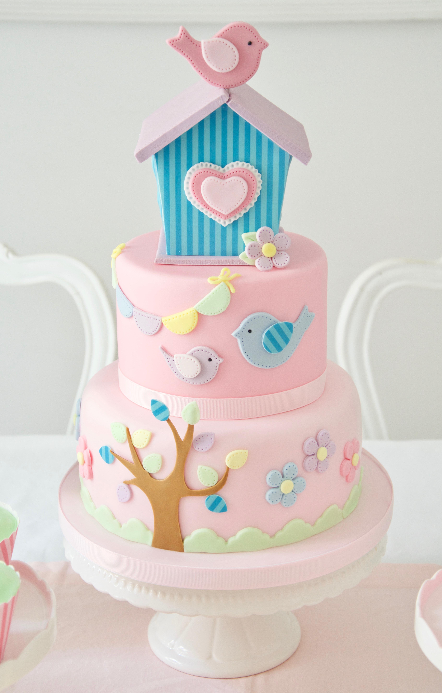 Girls birdcage birthday