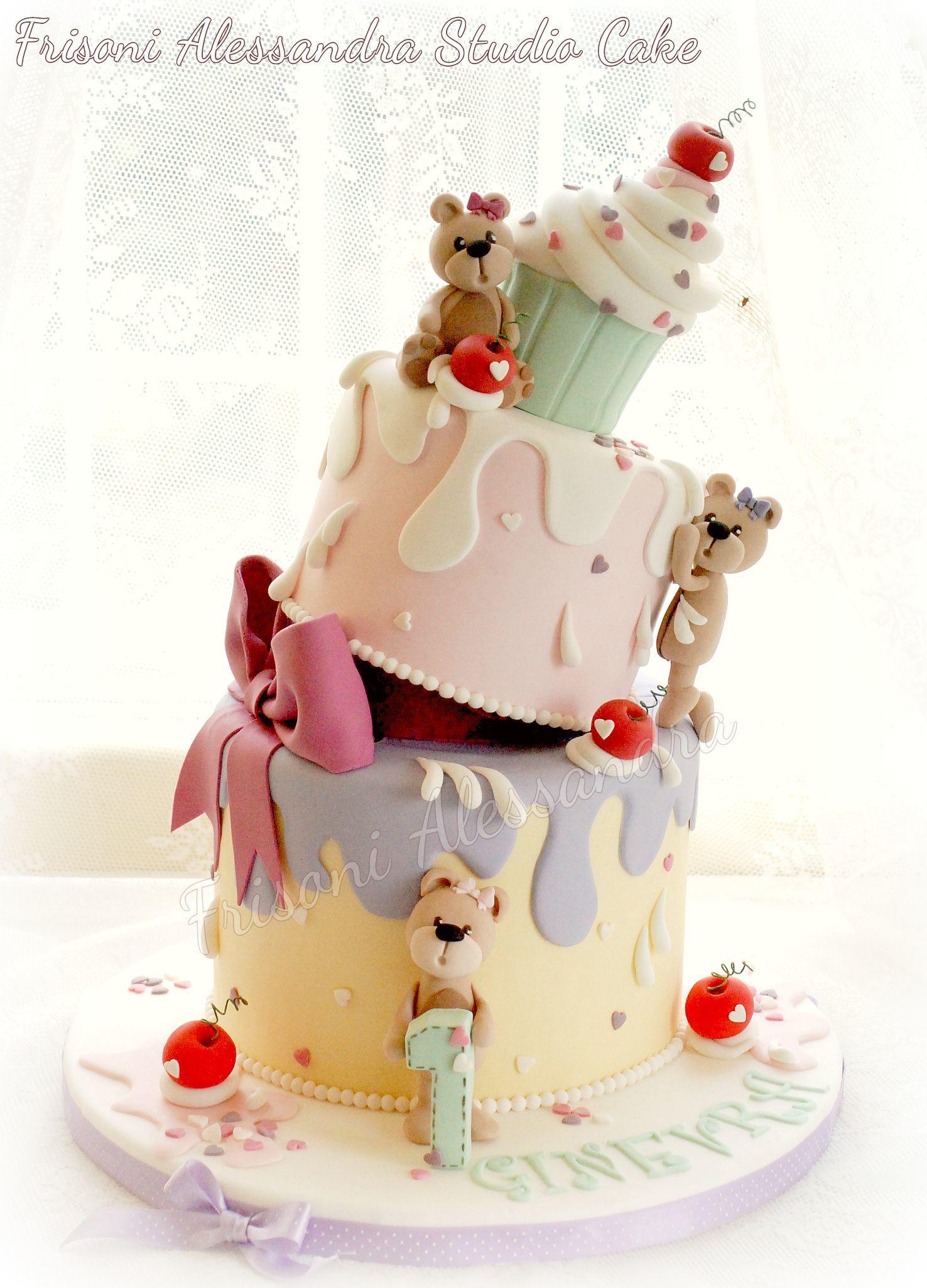 Topsy Turvy Baby Cake