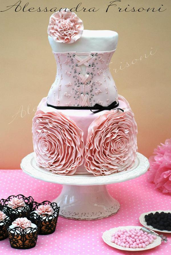 Parisian Corset Cake