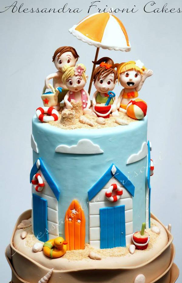 Novelty Beach Cake