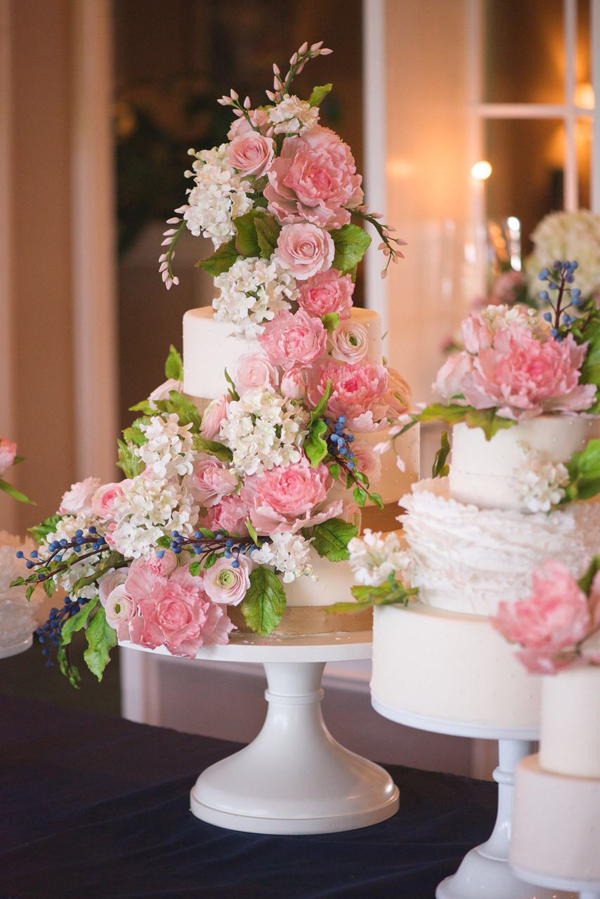 Cascading Sugar Flowers