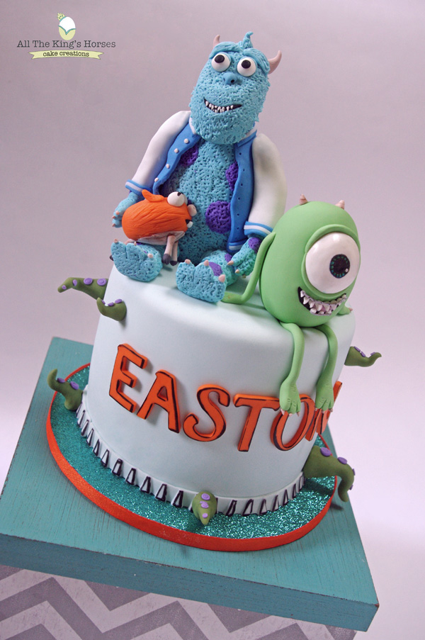 Monsters Inc. Cake