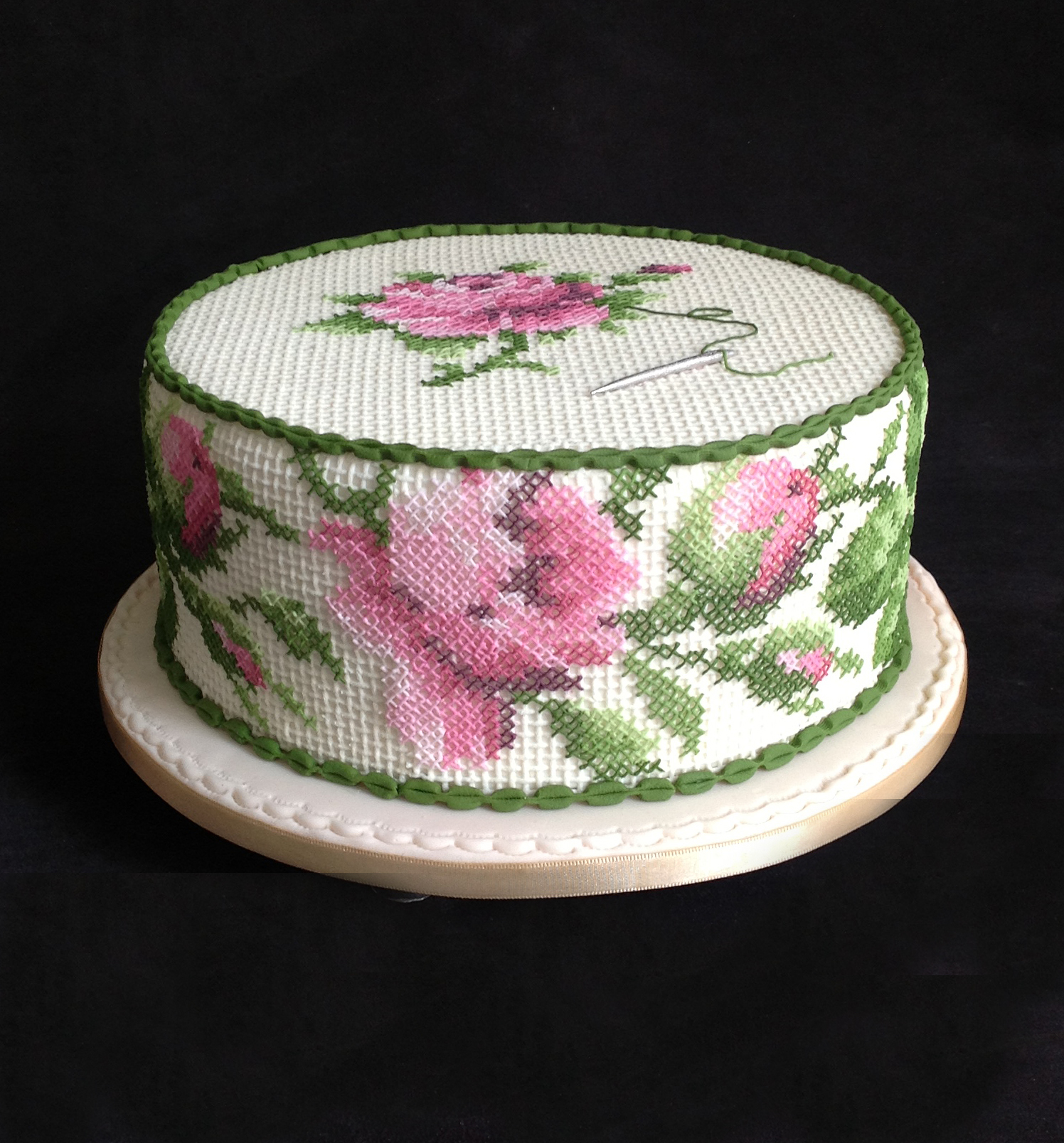 Cross stitch Cake
