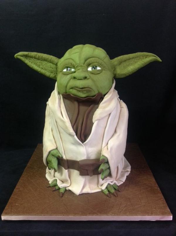 Sculpted Yoda