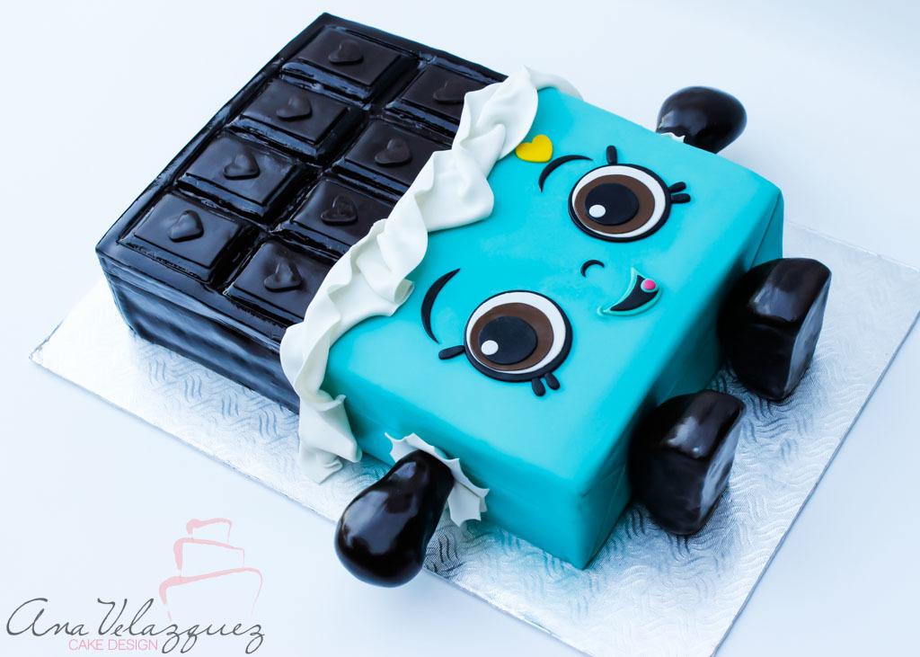 Shopkins Candy Bar Cake