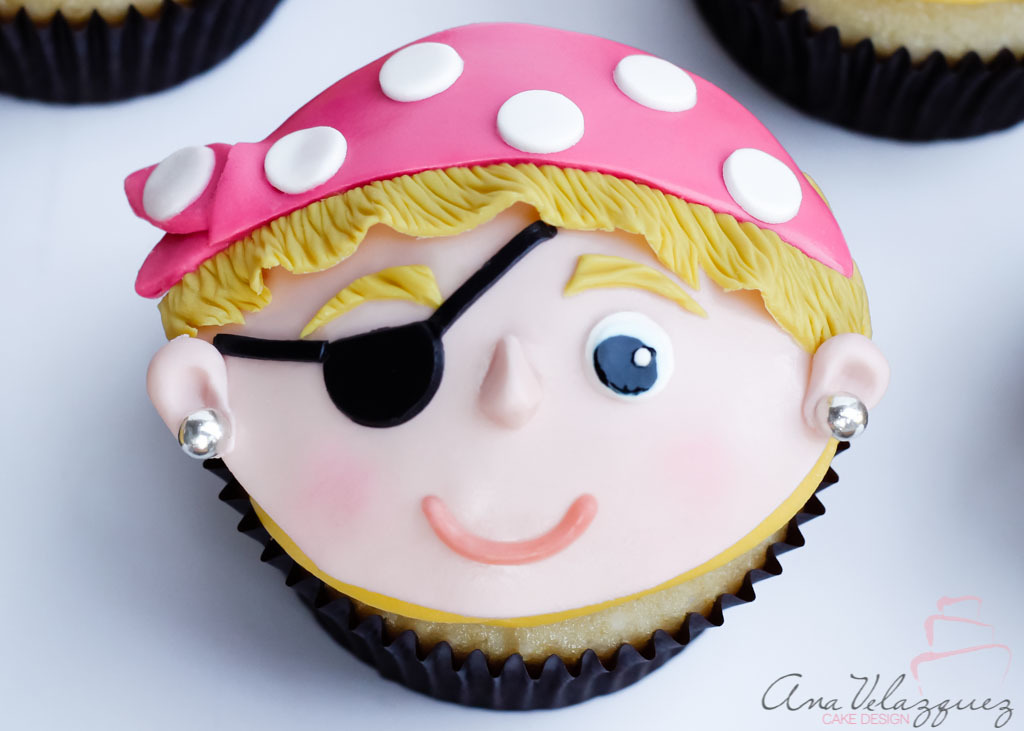 Pirate Cupcake