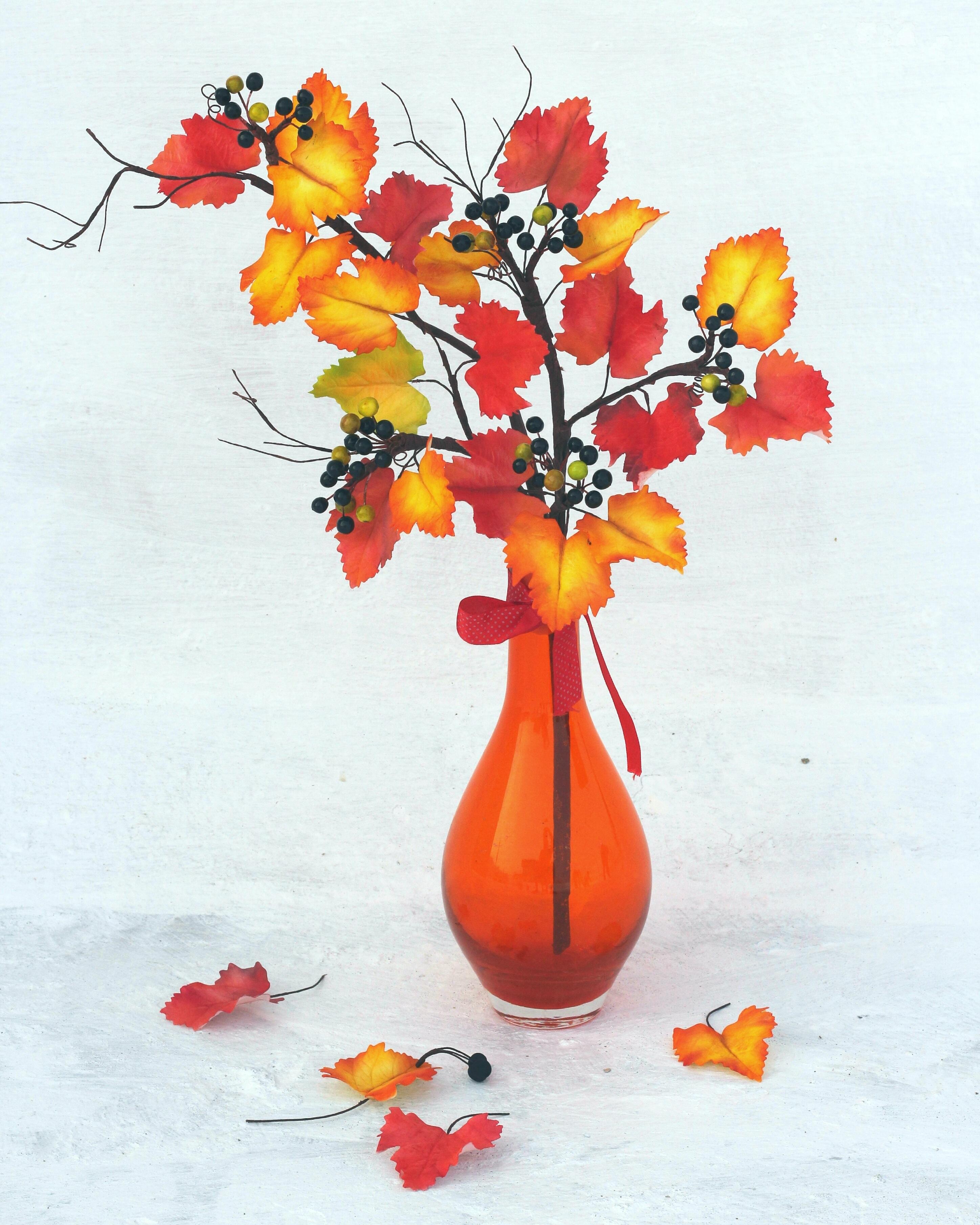 Orange and yellow sugar flowers