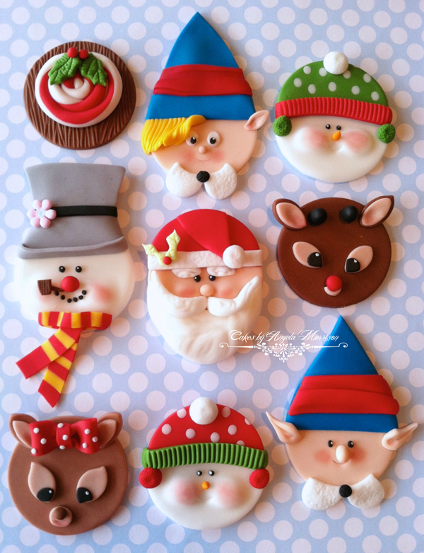 Rudolph Cupcake Toppers