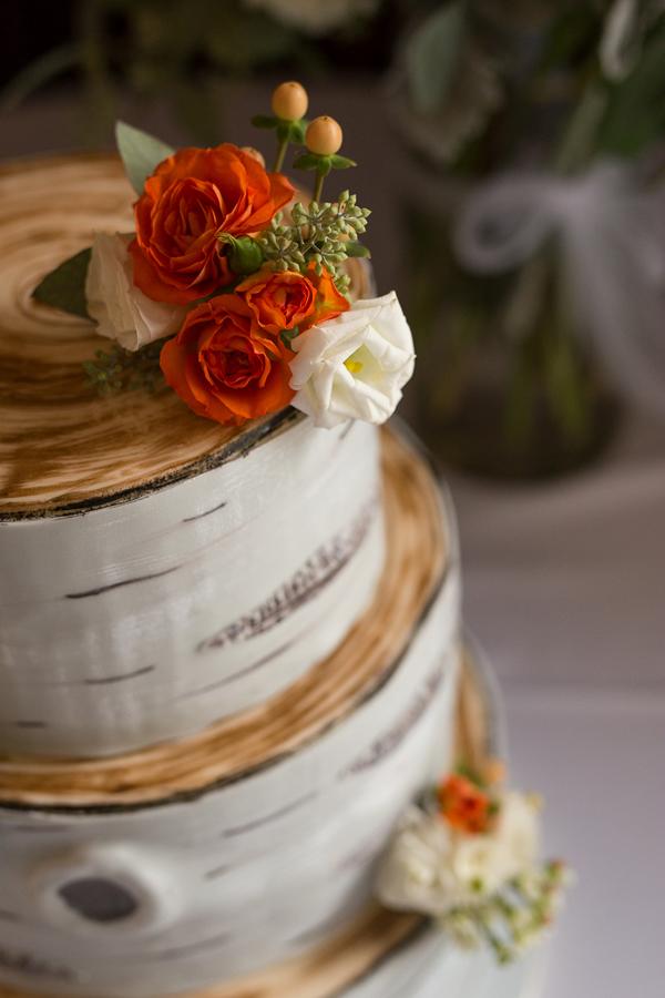 Rustic Bark Cake