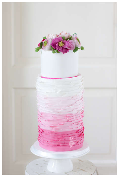 Ombre Pink Wedding