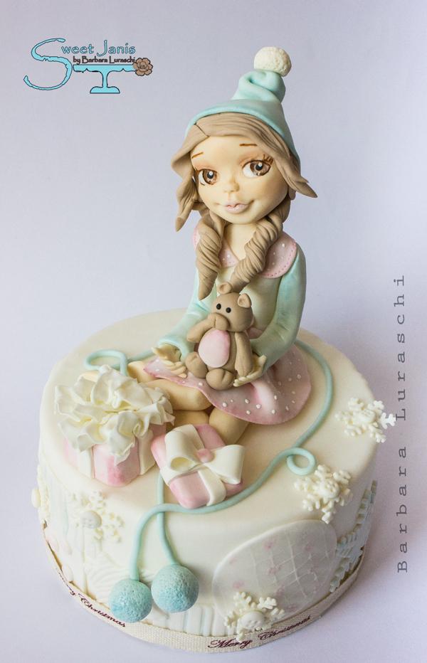 Young girl figurine
