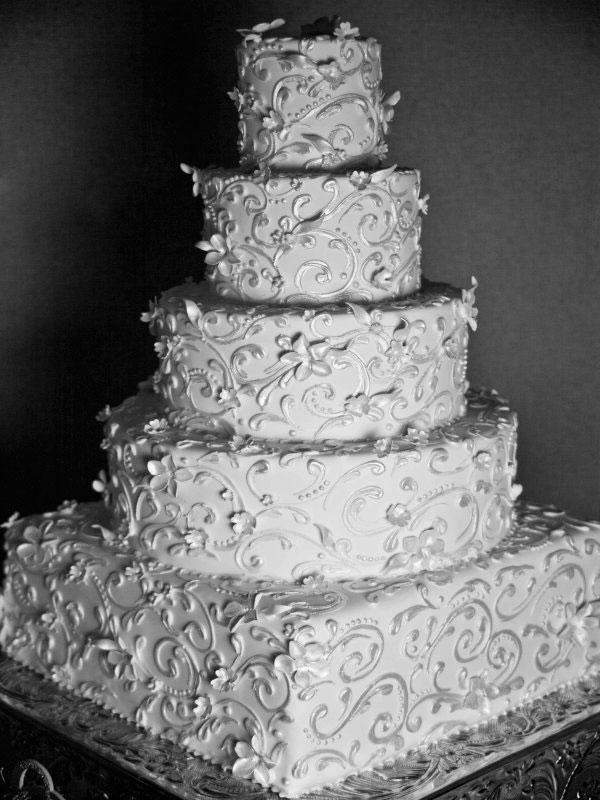 White Vintage Wedding