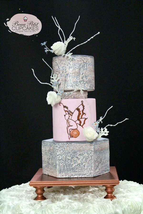 Pink and Silver Asian Inspired Wedding