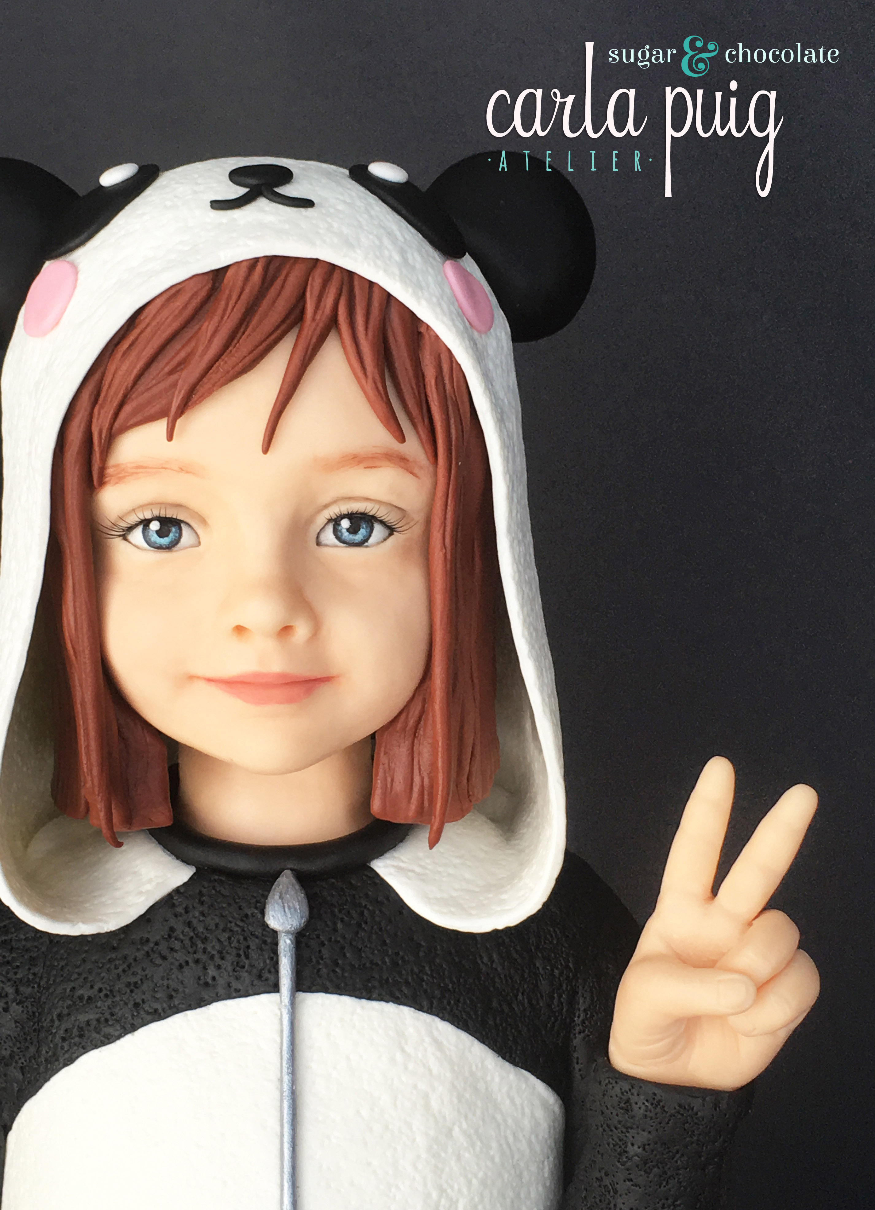 Little girl in costume