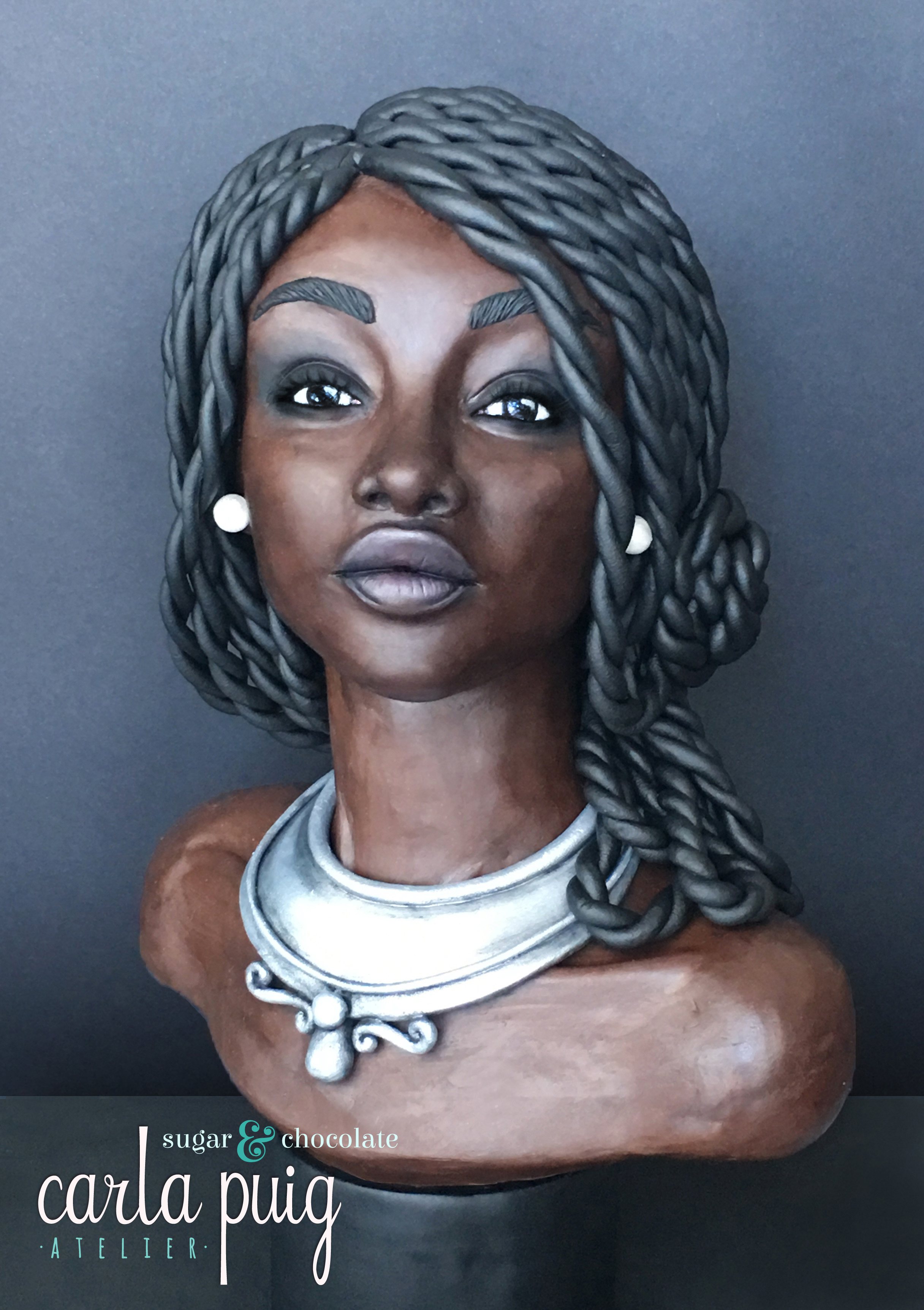 Sculpted African Woman