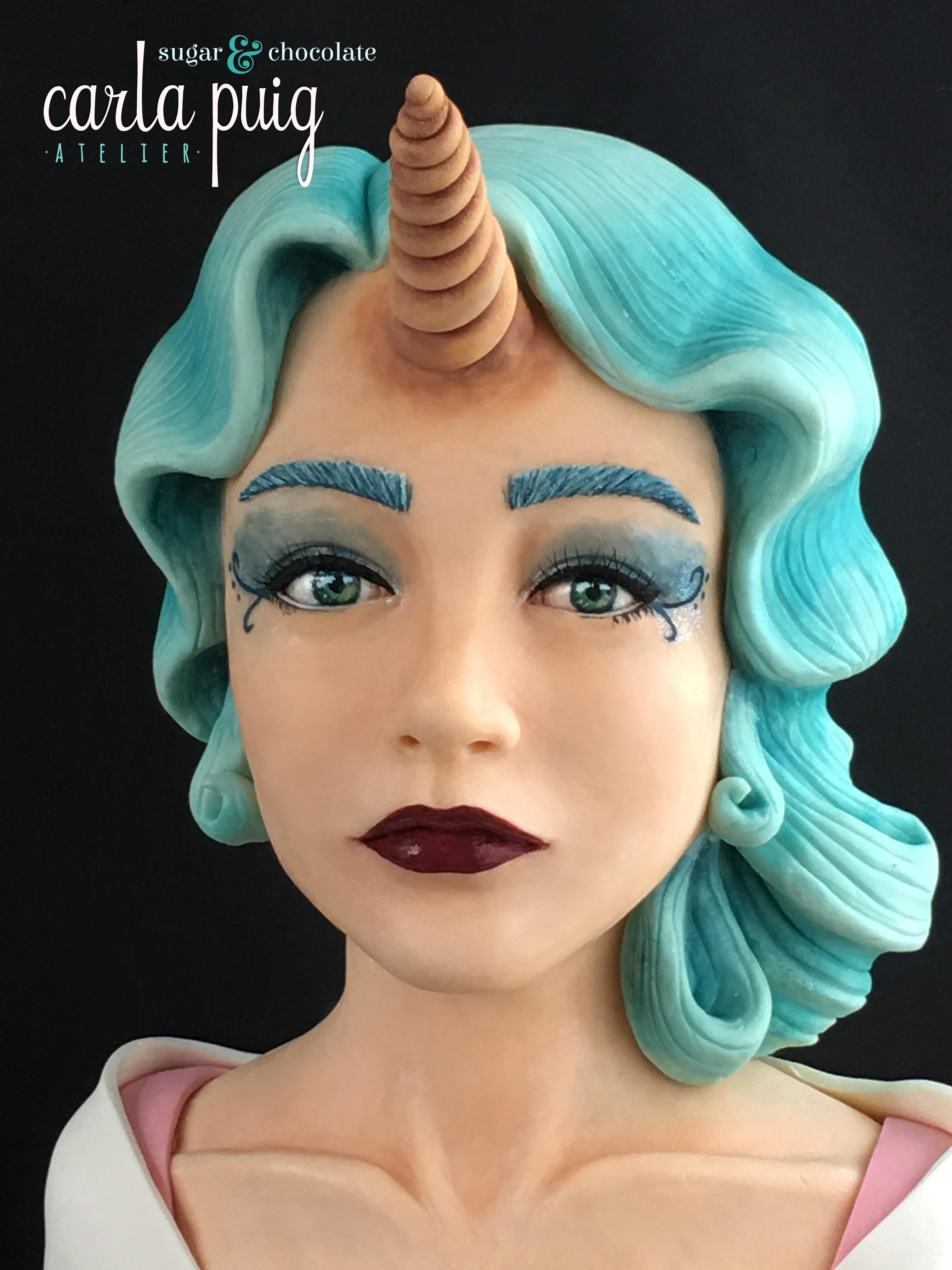 Mythical Unicorn Woman