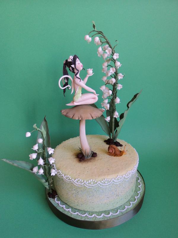 Girl on Mushroom