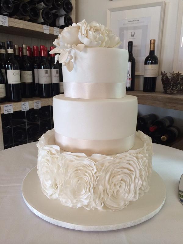 White Rosette Wedding