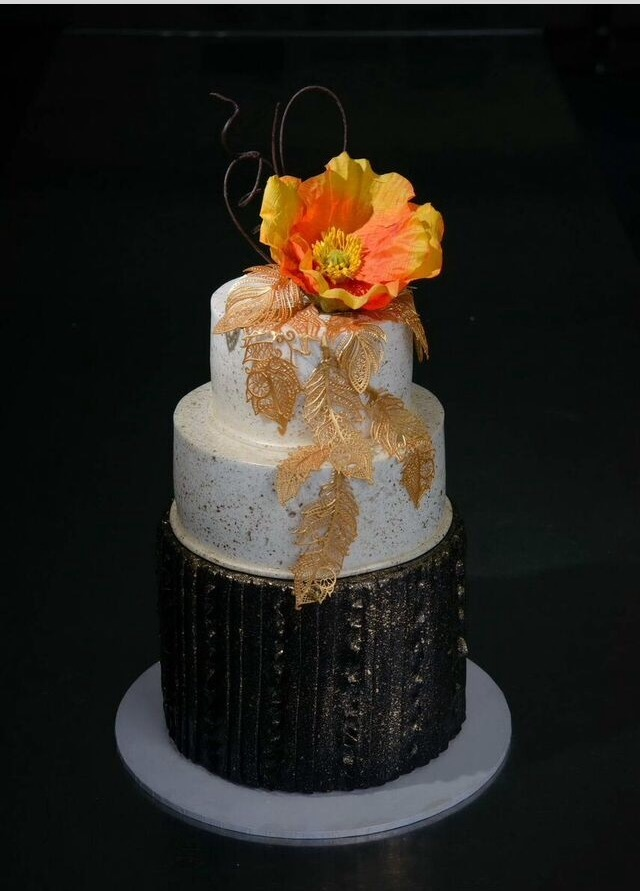 Gold and Black Wedding