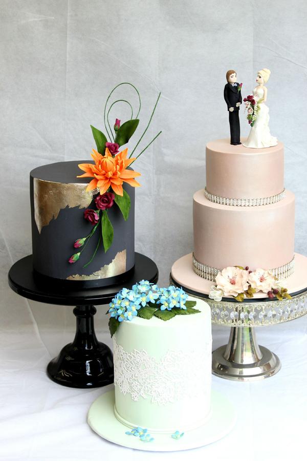 Trio of Mini Cakes