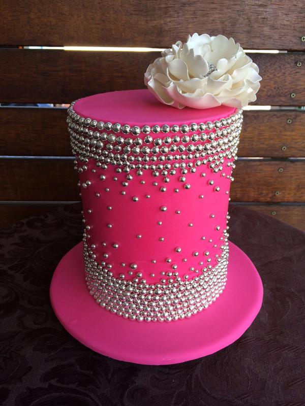 Barrel Bling Cake