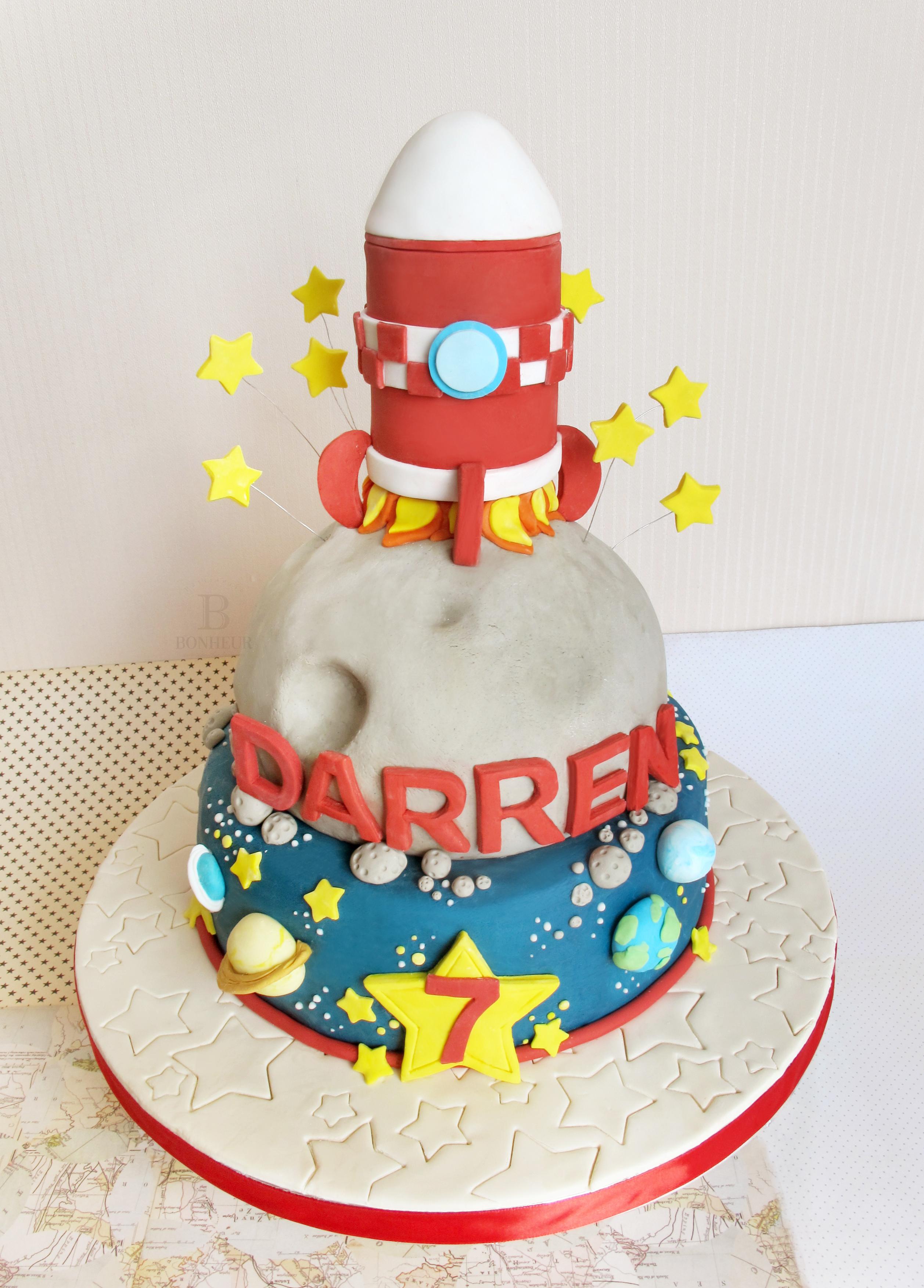 Rocket ship Birthday